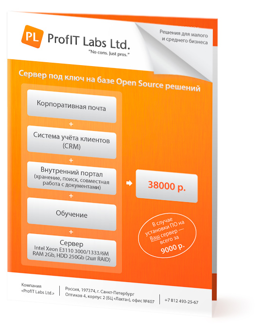 Брошюра «ProfIT Labs Ltd.»